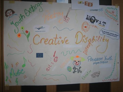 Mednarodna izmenjava na temo kreativnosti in umetnosti v Črnomlju