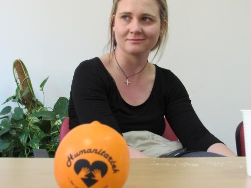 Obisk Ninne Kozorog iz Humanitarčka