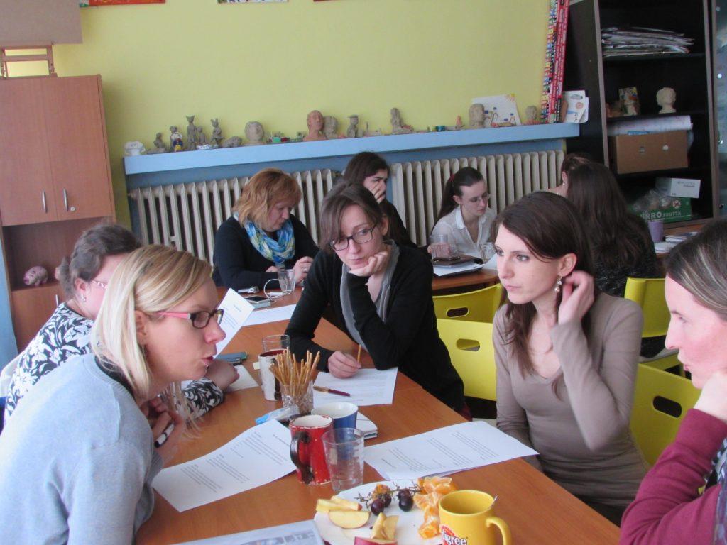 Udeleženci izobraževanja v projektu Yalta