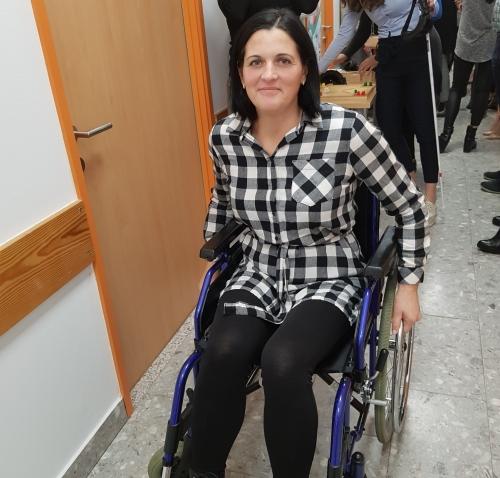 Vožnja z invalidskim vozičkom