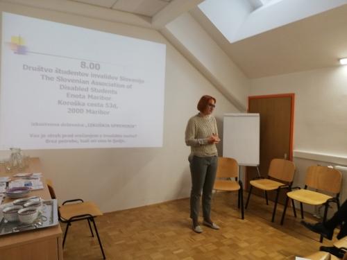 Lucija Tetičkovič predstavlja svojo študijsko izkušnjo