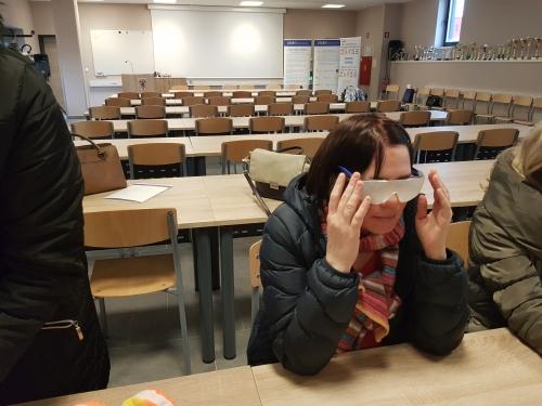 Spoznavanje slepote preko simulacijskih očal