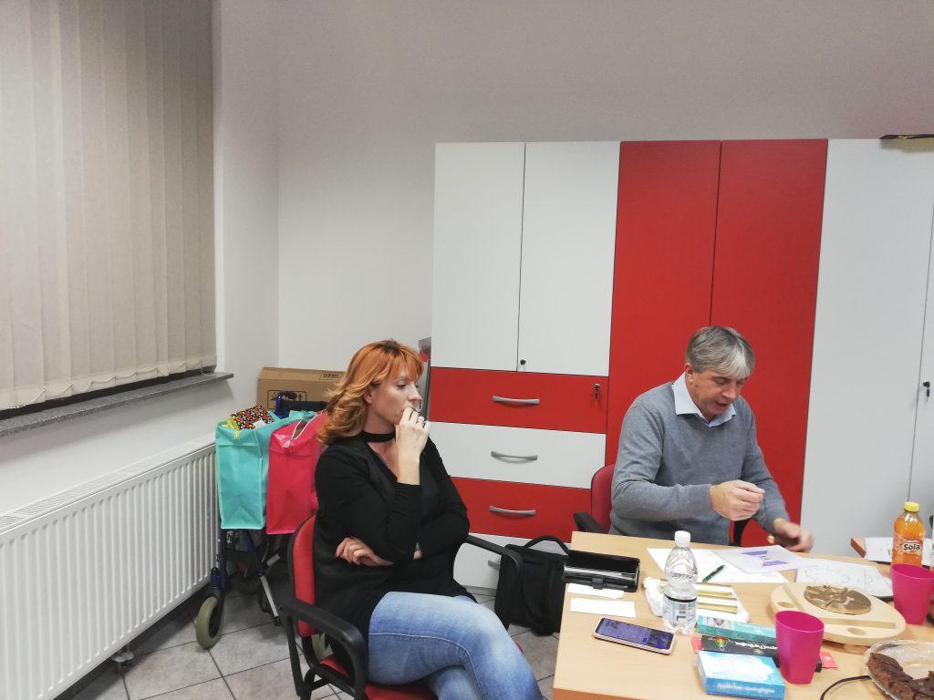 Zanimivo mesečno srečanje članov v Mariboru