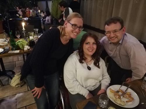 Sodelavci DŠIS Alenka, Mojca in Miha
