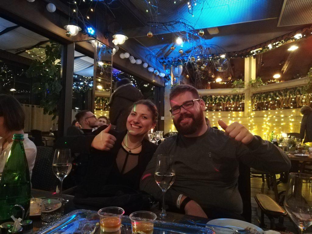 Zabavali smo se na društveni novoletni zabavi