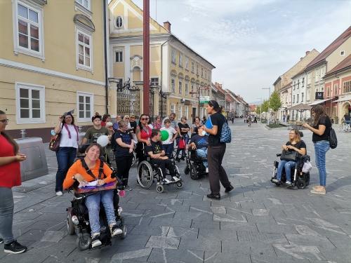 Inkluzijski pohod po Mariboru