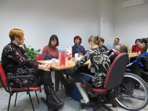 Obisk novinarke Damijane Žišt