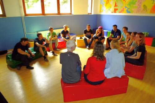 Pogovor z mladimi slepimi in slabovidnimi iz Slovaške